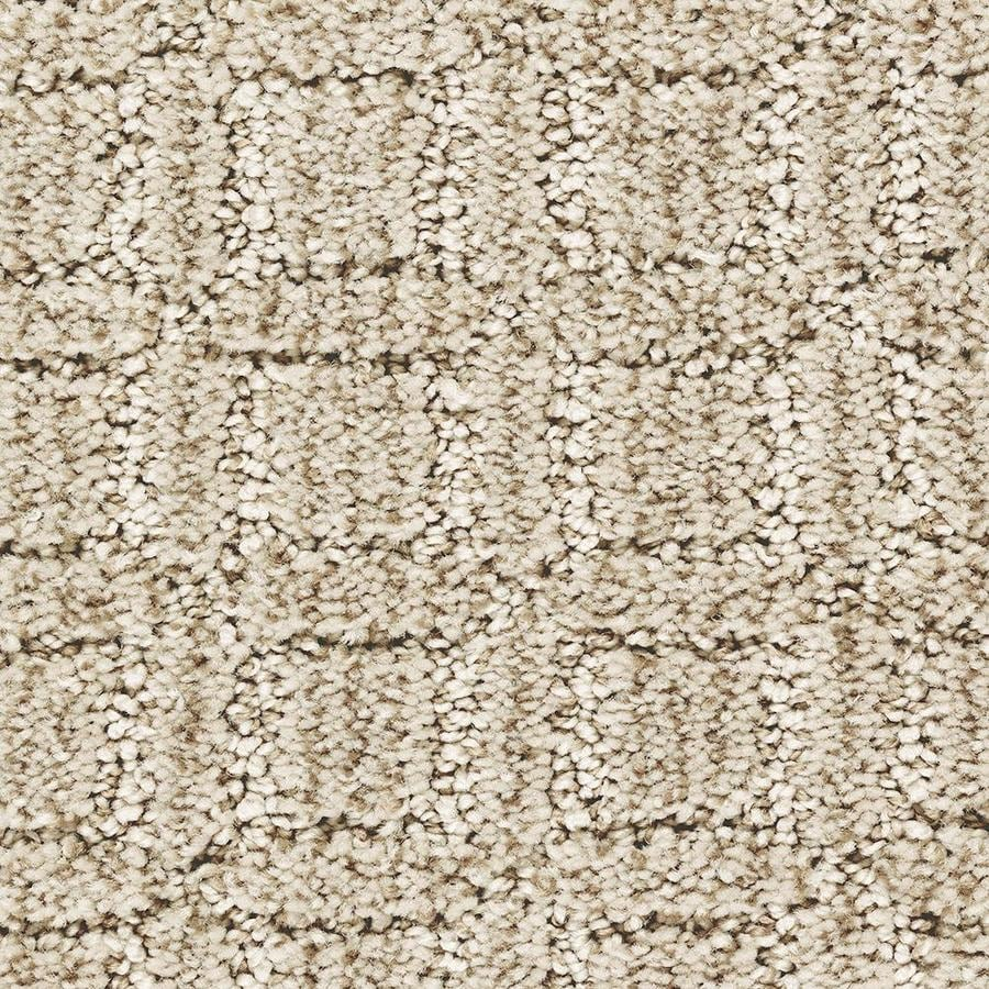 Mohawk Essentials Fashion Walk 12-ft W x Cut-to-Length Champagne Glee Pattern Interior Carpet