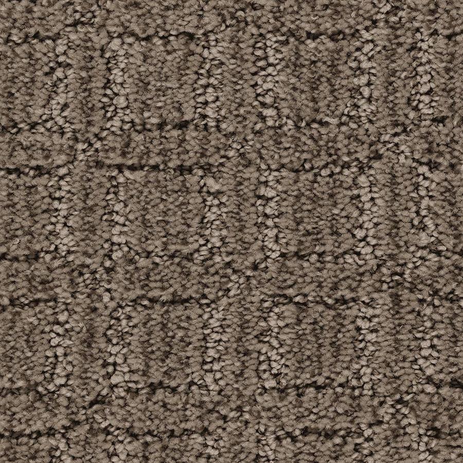 Mohawk Essentials Fashion Walk Swiss Chocolate Pattern Interior Carpet