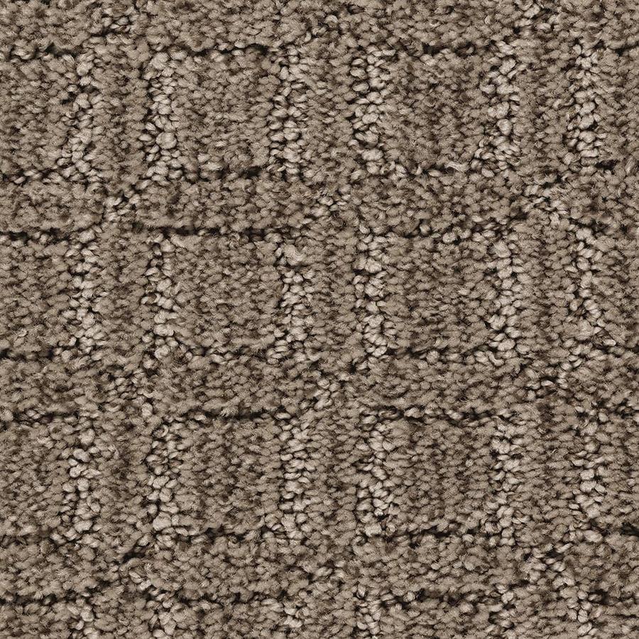 Mohawk Essentials Fashion Walk 12-ft W x Cut-to-Length Pralines Pattern Interior Carpet