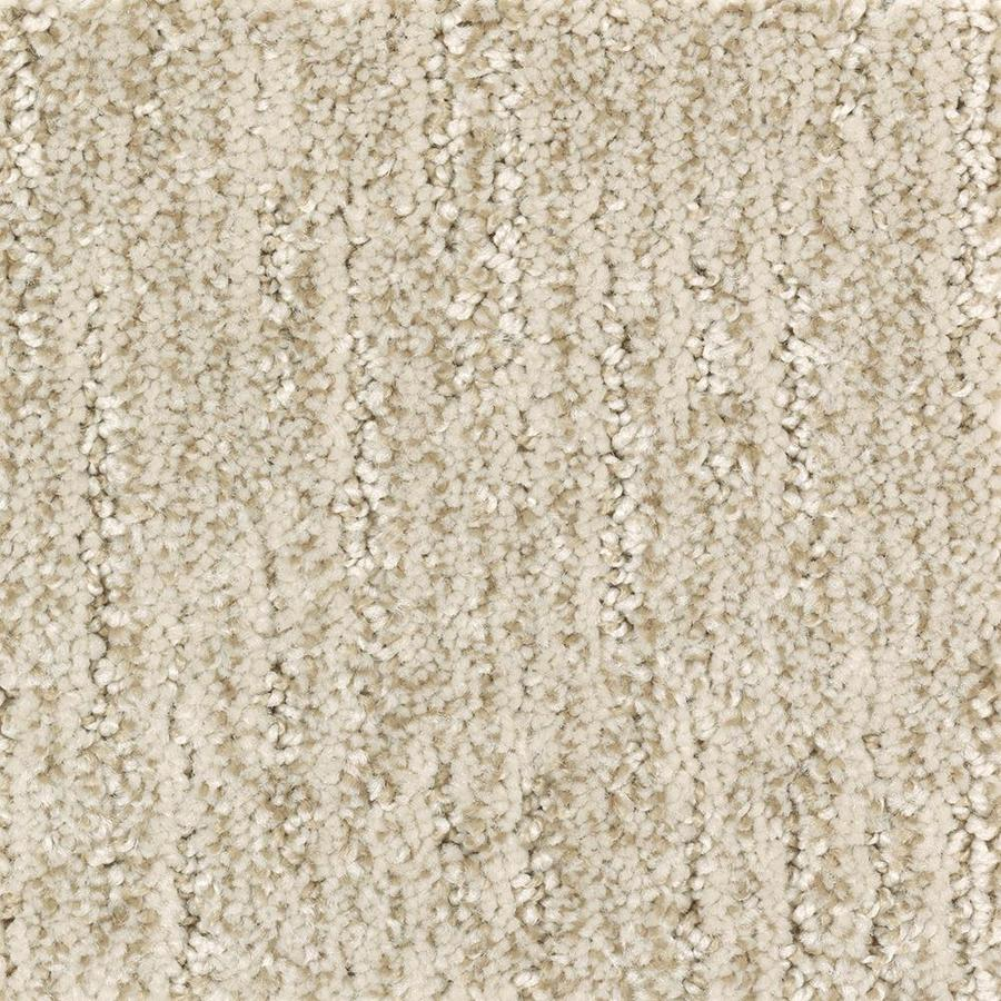 Mohawk Essentials Fashion Style 12-ft W x Cut-to-Length Champagne Glee Pattern Interior Carpet