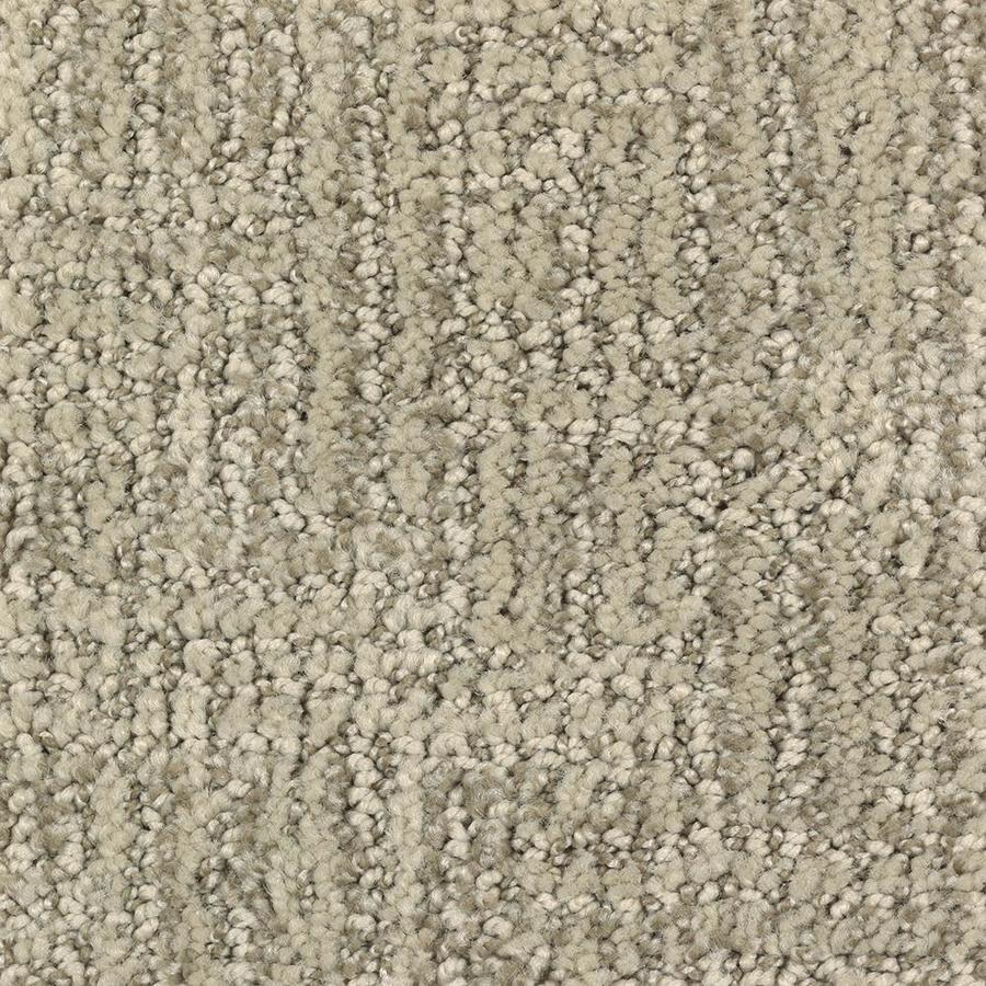 Mohawk Essentials Fashion Style 12-ft W Belgian Linen Pattern Interior Carpet