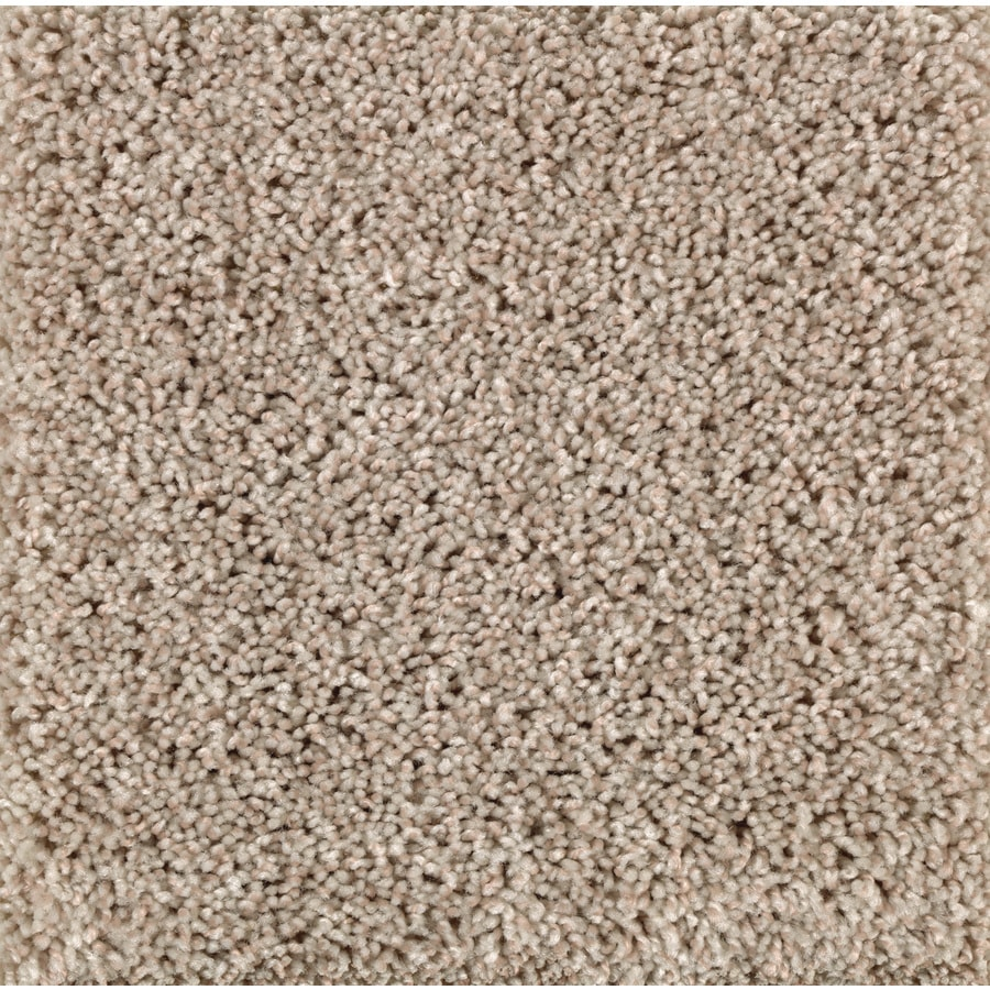 Mohawk Essentials Cornerstone 12-ft W x Cut-to-Length Bleached Wool Textured Interior Carpet