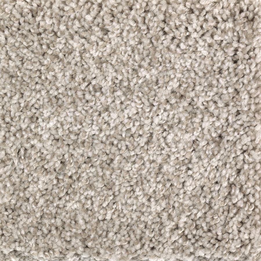 Mohawk Essentials Cornerstone 12-ft W x Cut-to-Length Soapstone Textured Interior Carpet