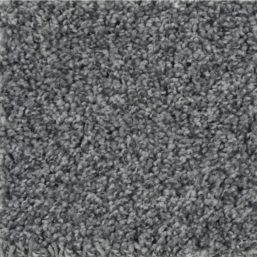 Mohawk Essentials Cornerstone Magnetic Grey Textured Indoor Carpet