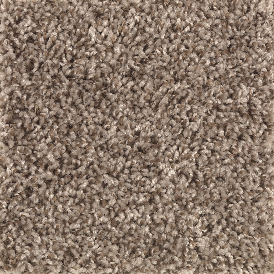 Mohawk Essentials Cornerstone 12-ft W x Cut-to-Length Cedar Chip Textured Interior Carpet