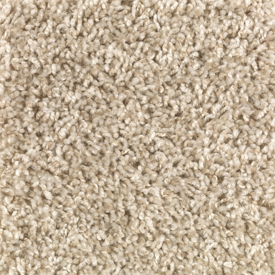 Mohawk Essentials Cornerstone 12-ft W x Cut-to-Length Fortune Cookie Textured Interior Carpet