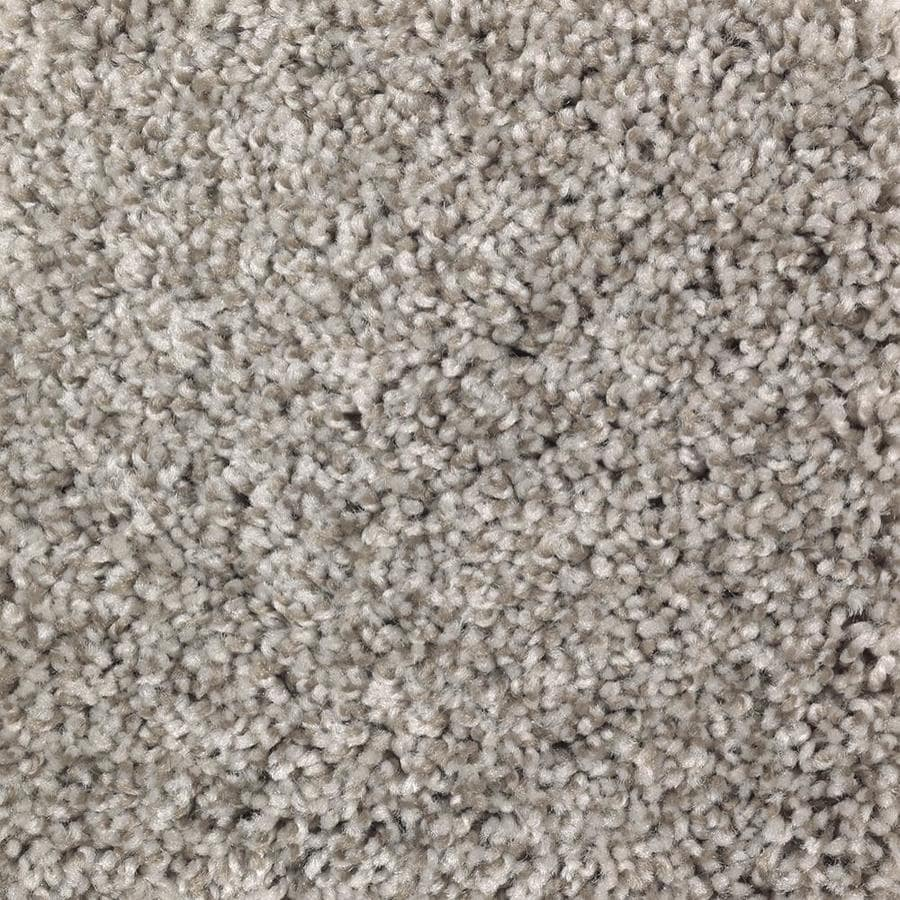 Mohawk Essentials Cornerstone 12-ft W x Cut-to-Length Smooth Taupe Textured Interior Carpet