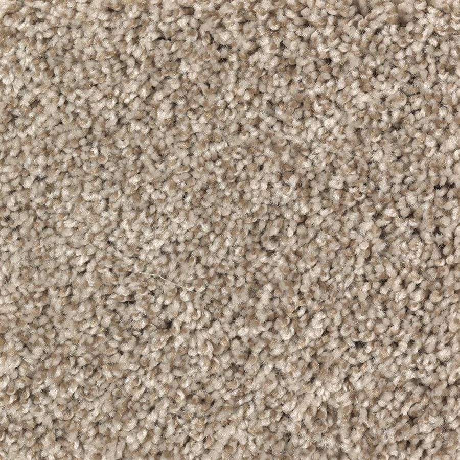 Mohawk Essentials Cornerstone 12-ft W x Cut-to-Length Honey Butter Textured Interior Carpet
