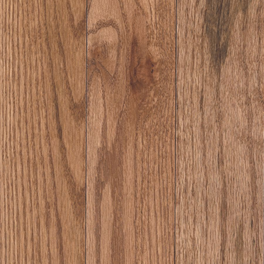 Shop mohawk westchester oak solid hardwood for Real oak hardwood flooring