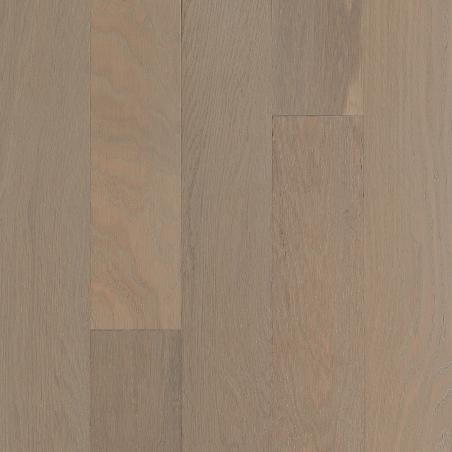 Style Selections 5.36-in Prefinished Driftwood Engineered Oak Hardwood Flooring (23.25-sq ft)