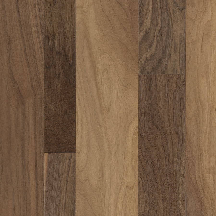 Shop pergo lifestyles variable width hill ridge walnut for Walnut hardwood flooring