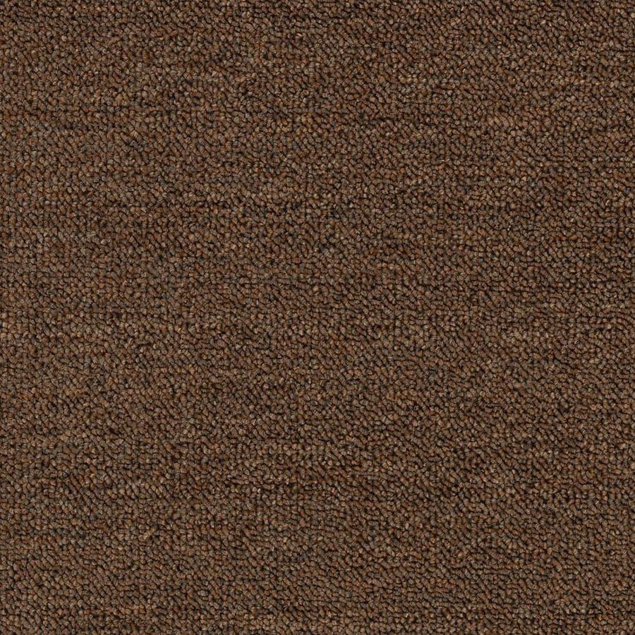 Mohawk 12-ft W x Cut-to-Length Pecan Berber/Loop Interior Carpet