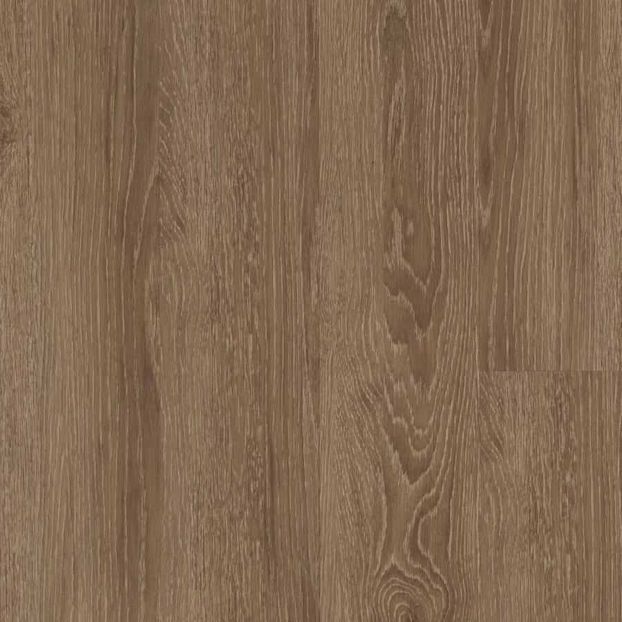 Mohawk 27-Piece 6-in x 48-in Rainy Day Glue (Adhesive) Luxury Vinyl Plank
