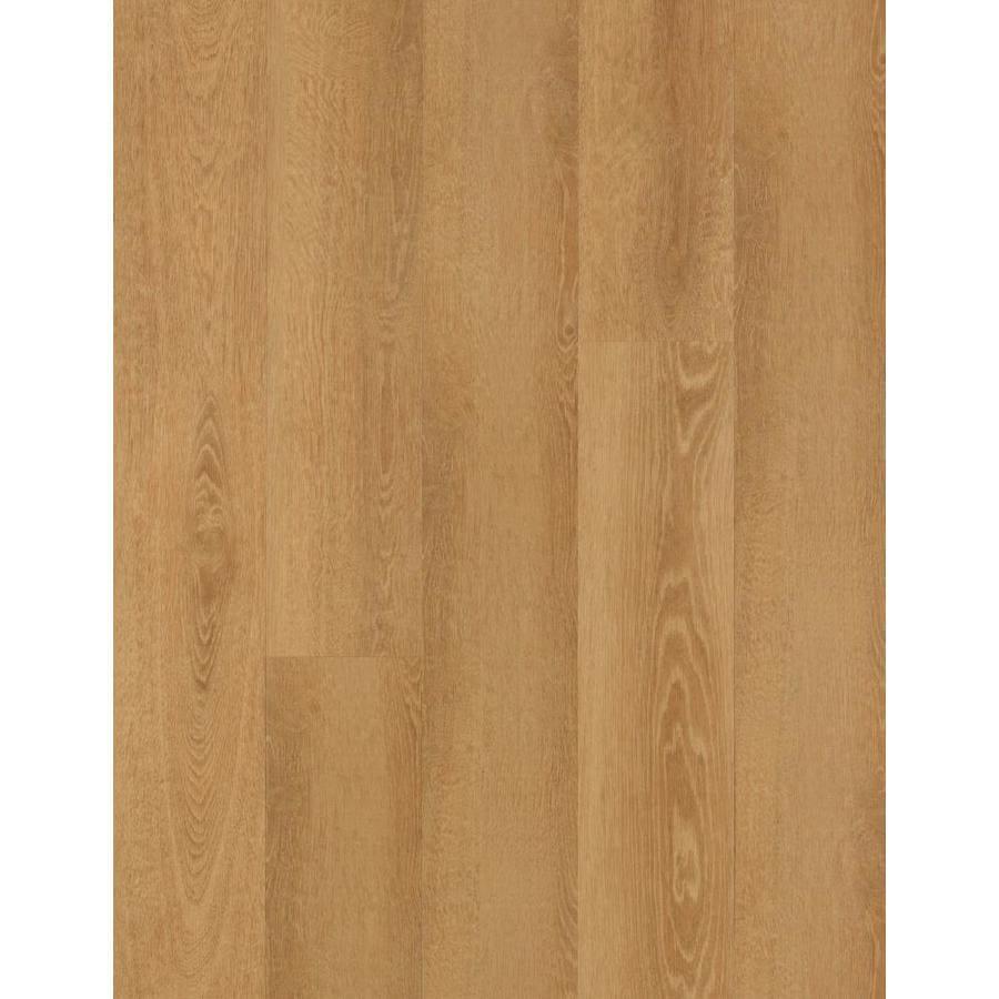 Mohawk 27-Piece 6-in x 48-in Butterscotch Glue (Adhesive) Luxury Vinyl Plank