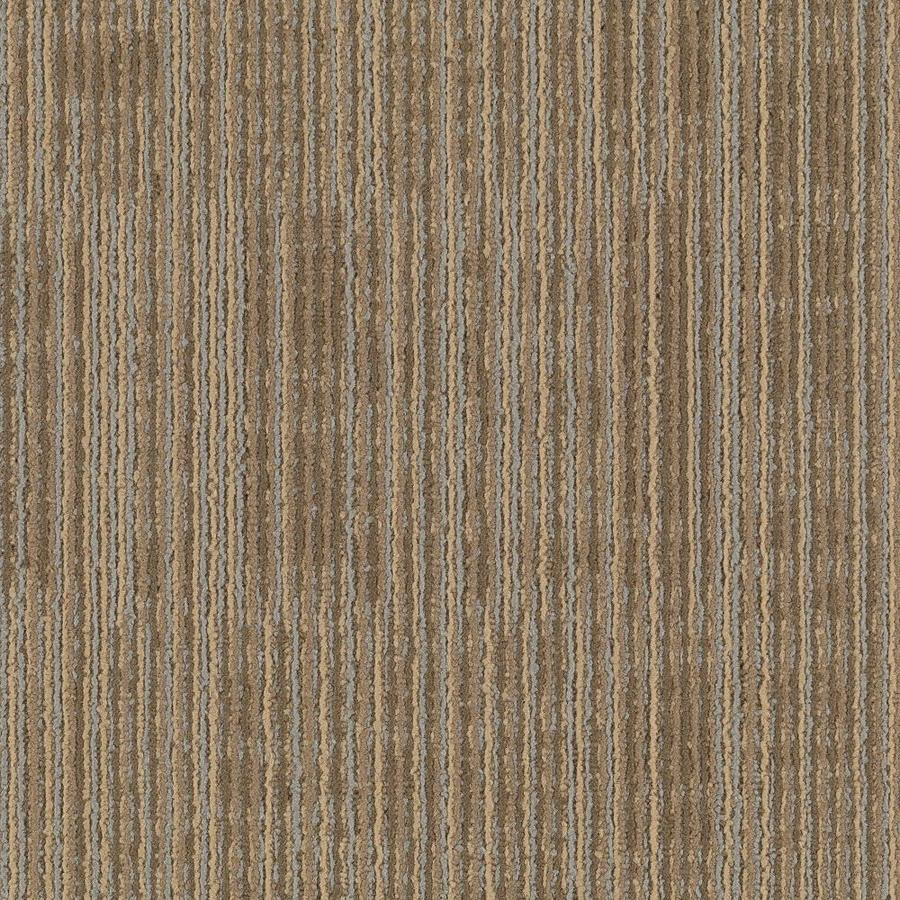 Mohawk Aladdin 18-Pack 24-in x 24-in Shale Pattern Full Spread Adhesive Carpet Tile