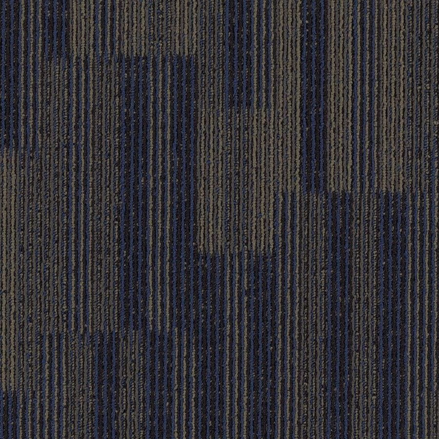 Mohawk Aladdin 18-Pack 24-in x 24-in Cerulean Pattern Full Spread Adhesive Carpet Tile