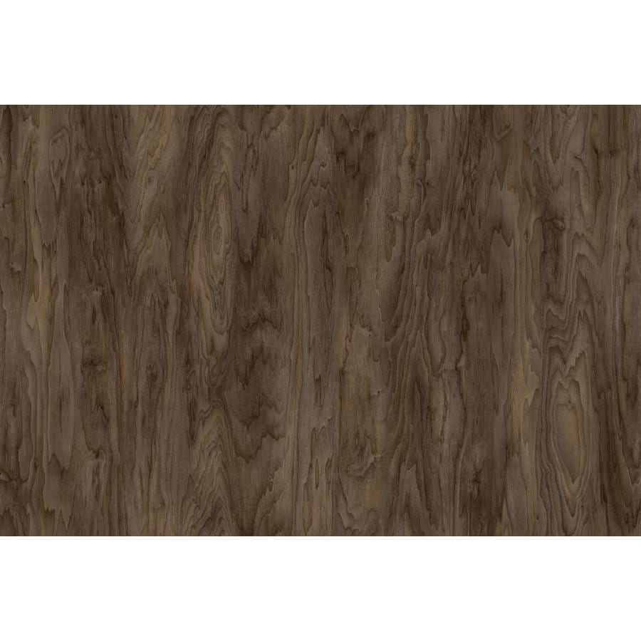 Mohawk 18-Piece 8-in x 48-in Brown Derby Adhesive Luxury Vinyl Plank