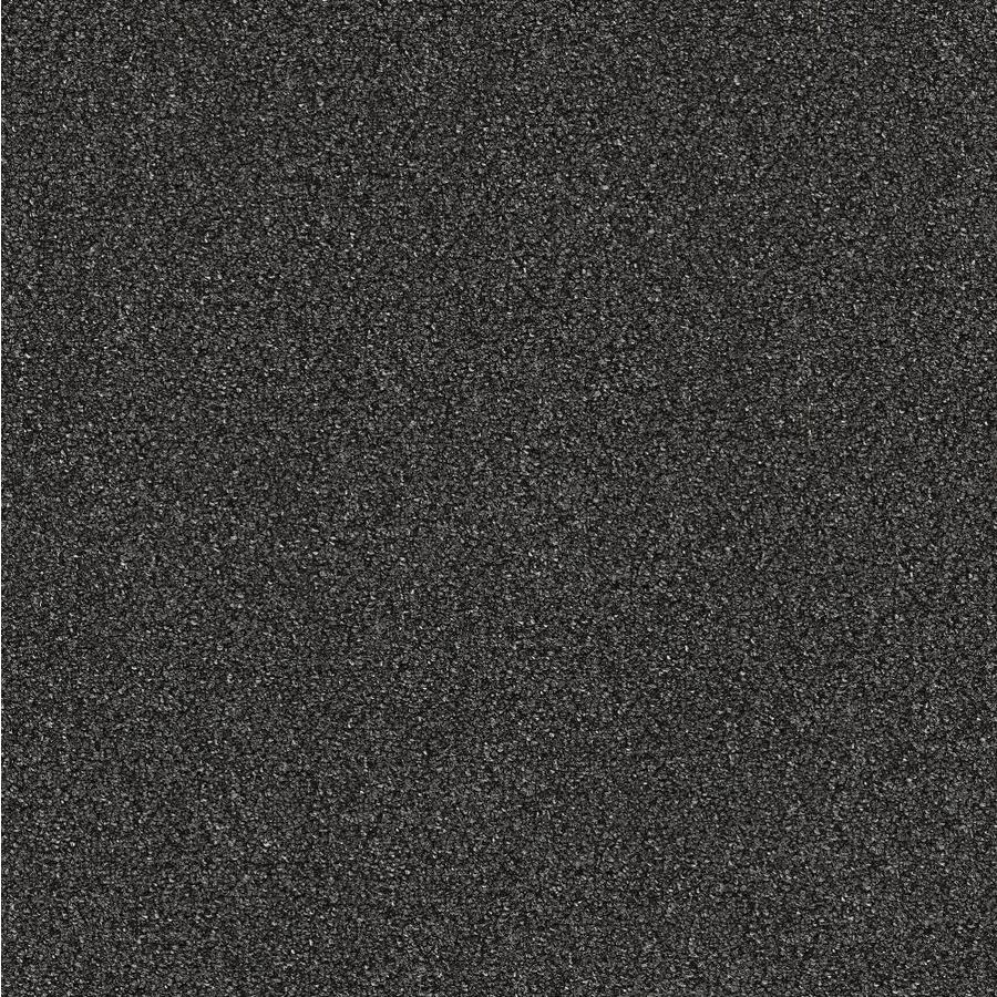 Mohawk Home and Office 12-ft W x Cut-to-Length Battleship Plush Interior Carpet