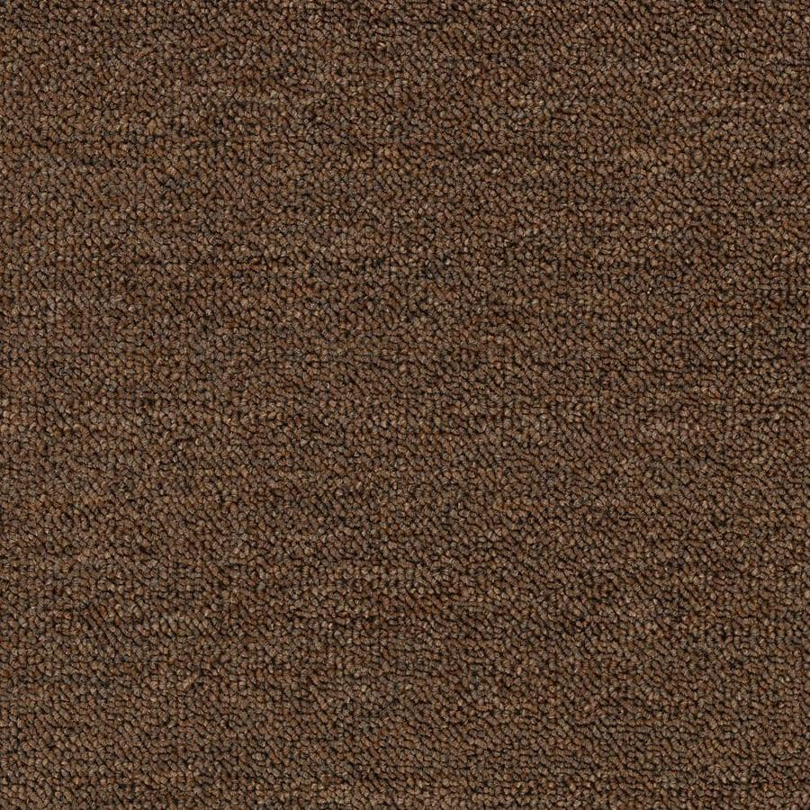 Mohawk Home and Office 12-ft W x Cut-to-Length PINE Nut Berber/Loop Interior Carpet