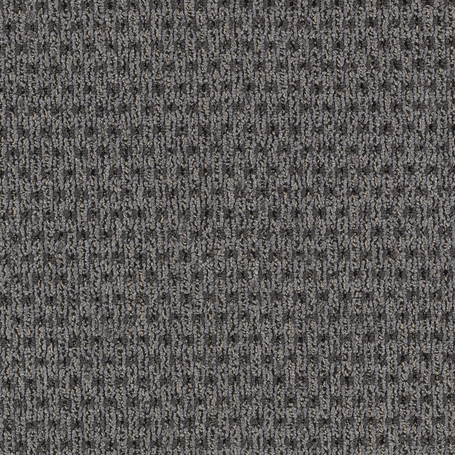 Mohawk Home and Office 12-ft W x Cut-to-Length Smokey Plush Interior Carpet