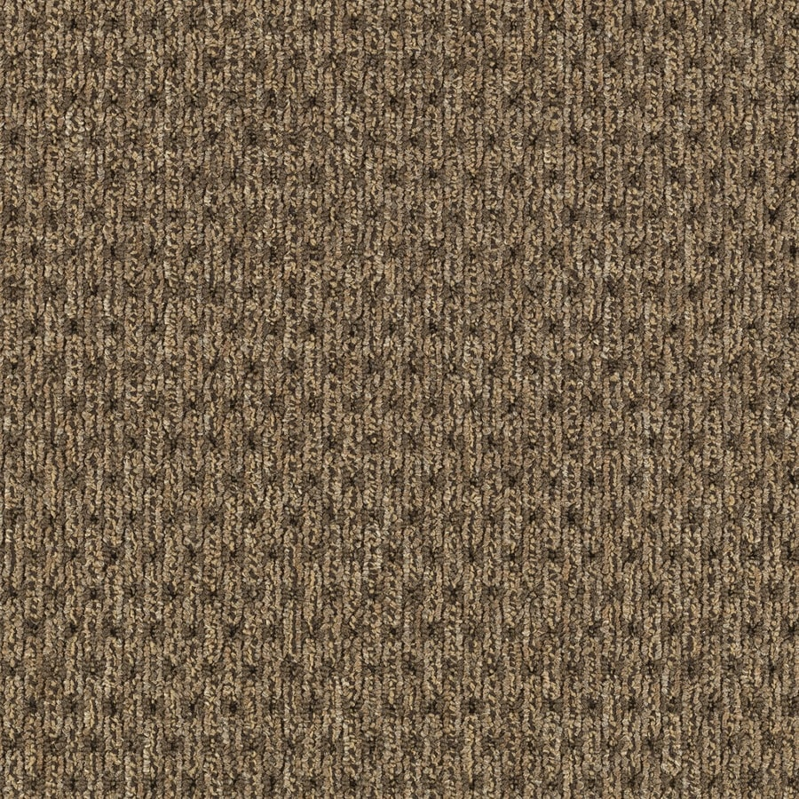 Mohawk Home and Office 12-ft W x Cut-to-Length Chestnut Plush Interior Carpet