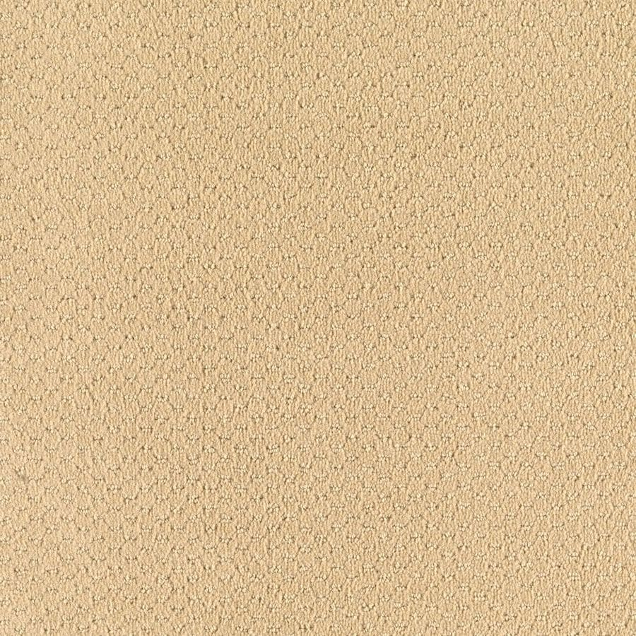 Mohawk Home and Office 12-ft W x Cut-to-Length CHAMPAGNE Pattern Interior Carpet