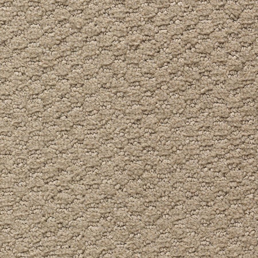 Mohawk Home and Office 12-ft W x Cut-to-Length BATTLESHIP Pattern Interior Carpet