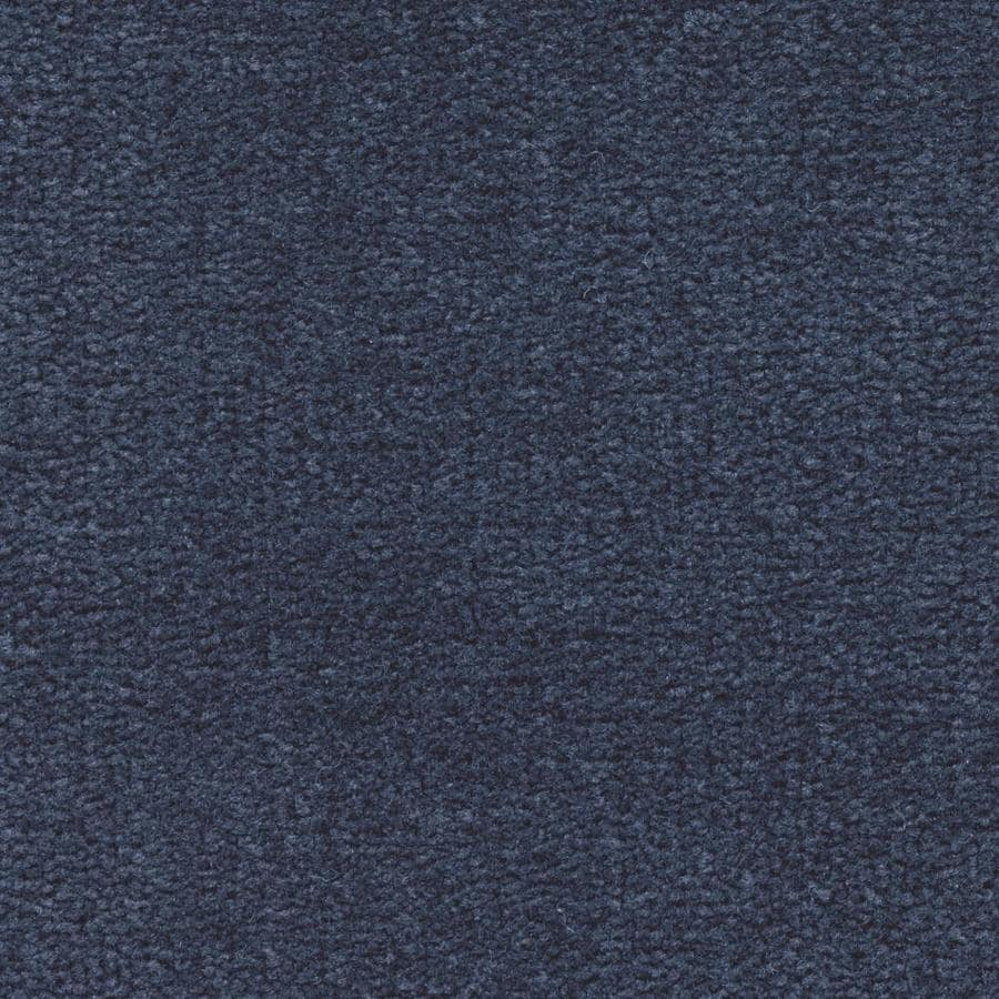 Mohawk Home and Office 12-ft W x Cut-to-Length Blue Bayou Plush Interior Carpet