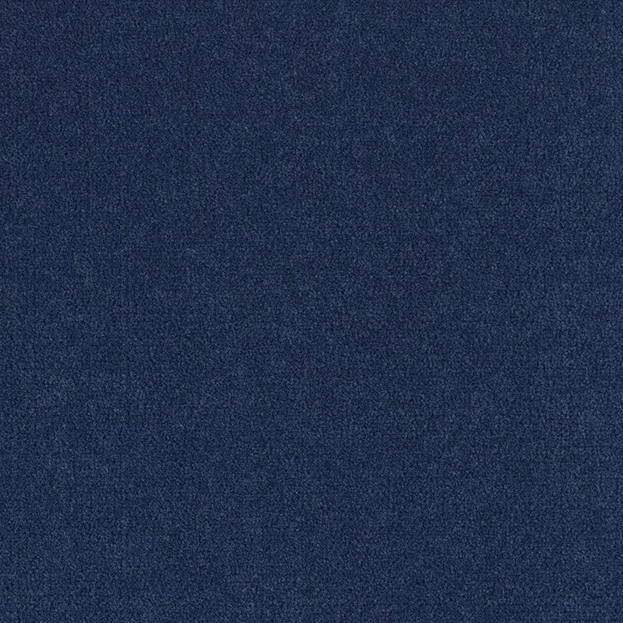 Mohawk Home and Office 12-ft W x Cut-to-Length Indigo Plush Interior Carpet