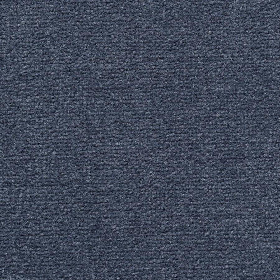 Mohawk Home and Office 12-ft W x Cut-to-Length Ultramarine Plush Interior Carpet