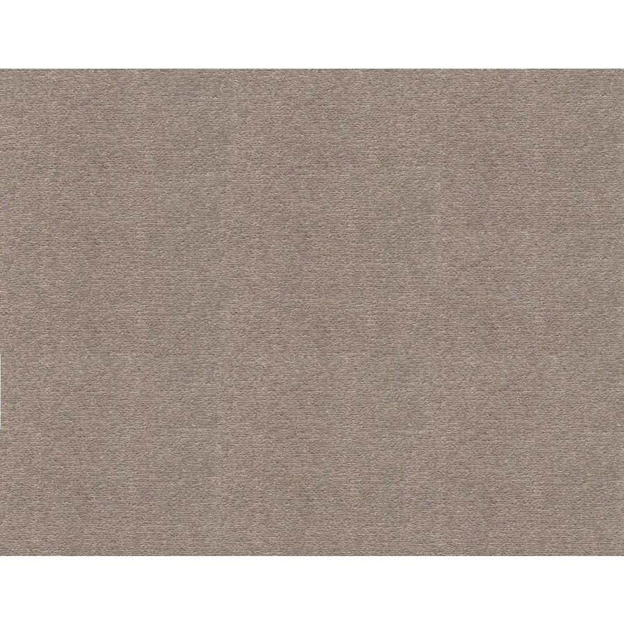 Mohawk Home and Office 12-ft W x Cut-to-Length Nickel Plush Interior Carpet