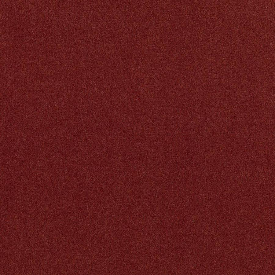 Mohawk Home and Office 12-ft W x Cut-to-Length Raspberry Plush Interior Carpet