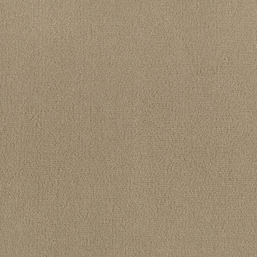 Mohawk Home and Office 12-ft W x Cut-to-Length Roasted Nut Plush Interior Carpet