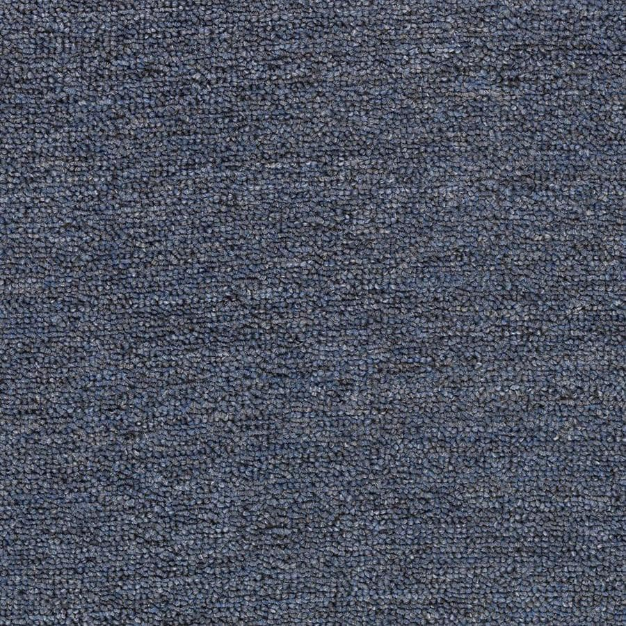 Mohawk Home and Office 12-ft W x Cut-to-Length INDIGO Berber/Loop Interior Carpet