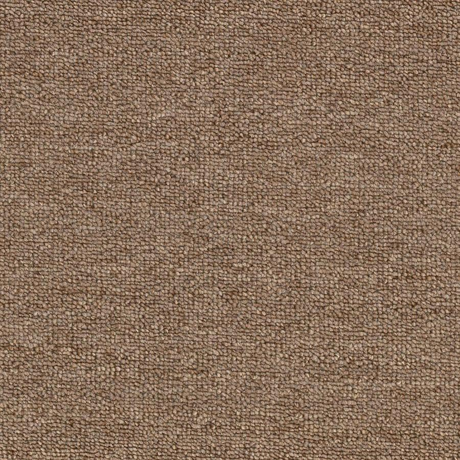 Mohawk Home and Office 12-ft W x Cut-to-Length BUTTER BEER Berber/Loop Interior Carpet