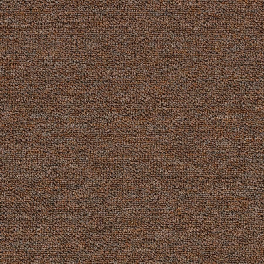 Mohawk Home and Office 15-ft W x Cut-to-Length PEPPERCORN Berber/Loop Interior Carpet