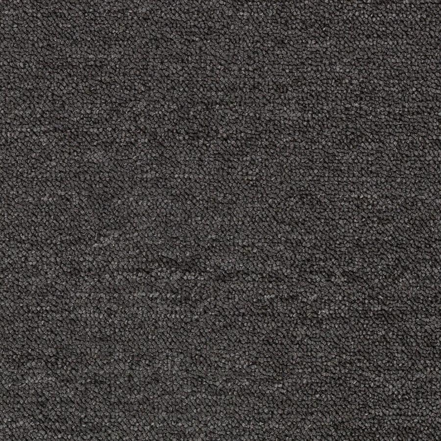 Mohawk Home and Office 12-ft W x Cut-to-Length SMOKESTACK Berber/Loop Interior Carpet