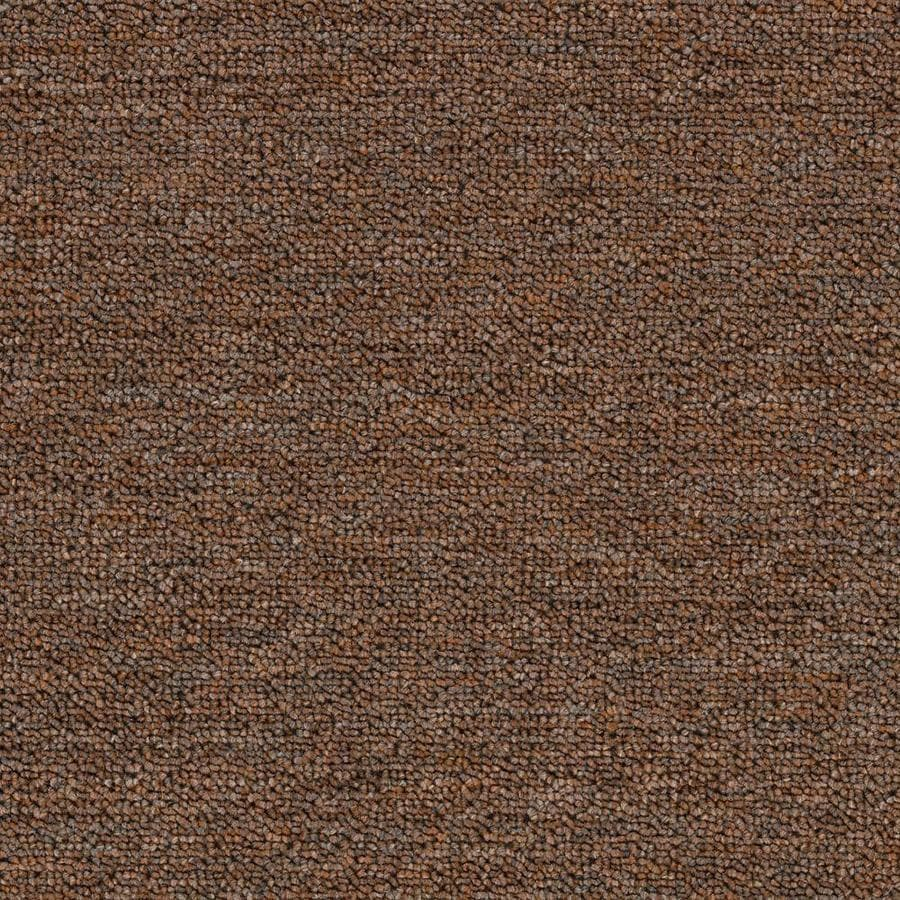Mohawk Home and Office 12-ft W x Cut-to-Length PEPPERCORN Berber/Loop Interior Carpet