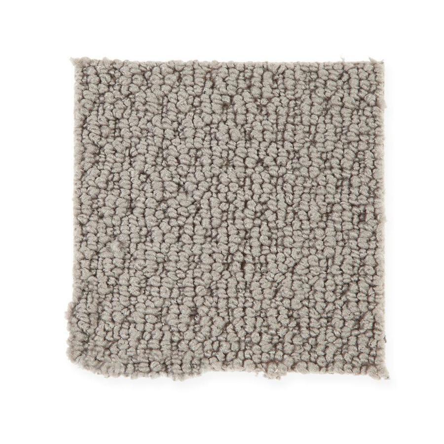 Mohawk 12-ft W x Cut-to-Length Cloud Cover Berber/Loop Interior Carpet