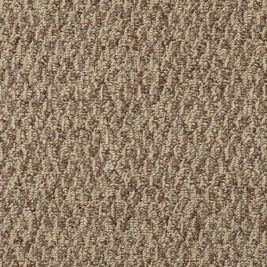Mohawk 12-ft W x Cut-to-Length Cocoa Berber/Loop Interior Carpet