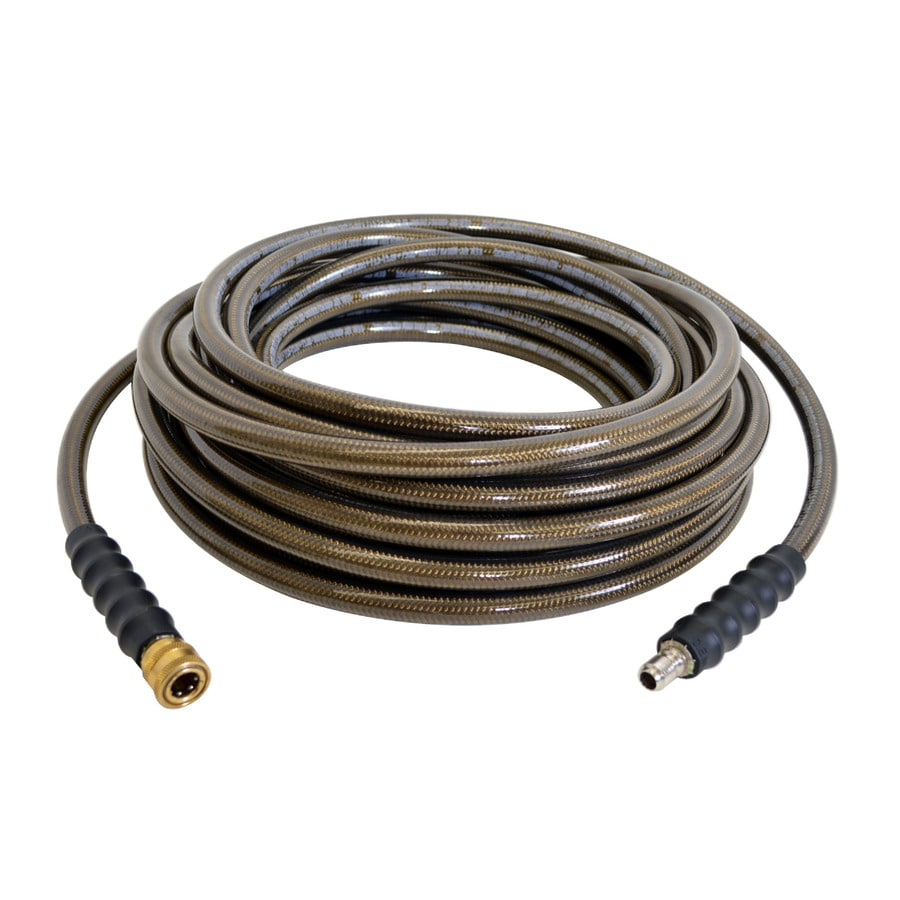 Blue Hawk 3/8-in x 50-ft Steel Pressure Washer Hose
