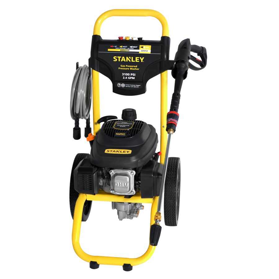 Stanley SXPW 3100-PSI 2.4-GPM Cold Water Gas Pressure Washer