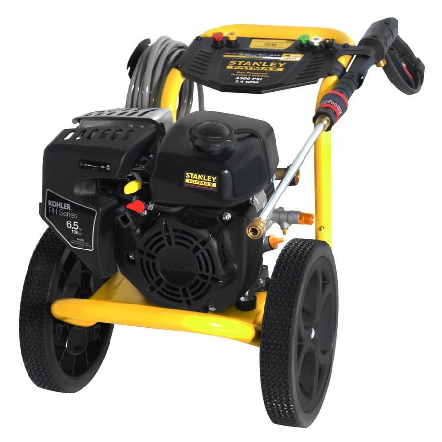 Stanley FatMax SXPW 3300-PSI 2.4-GPM Cold Water Gas Pressure Washer
