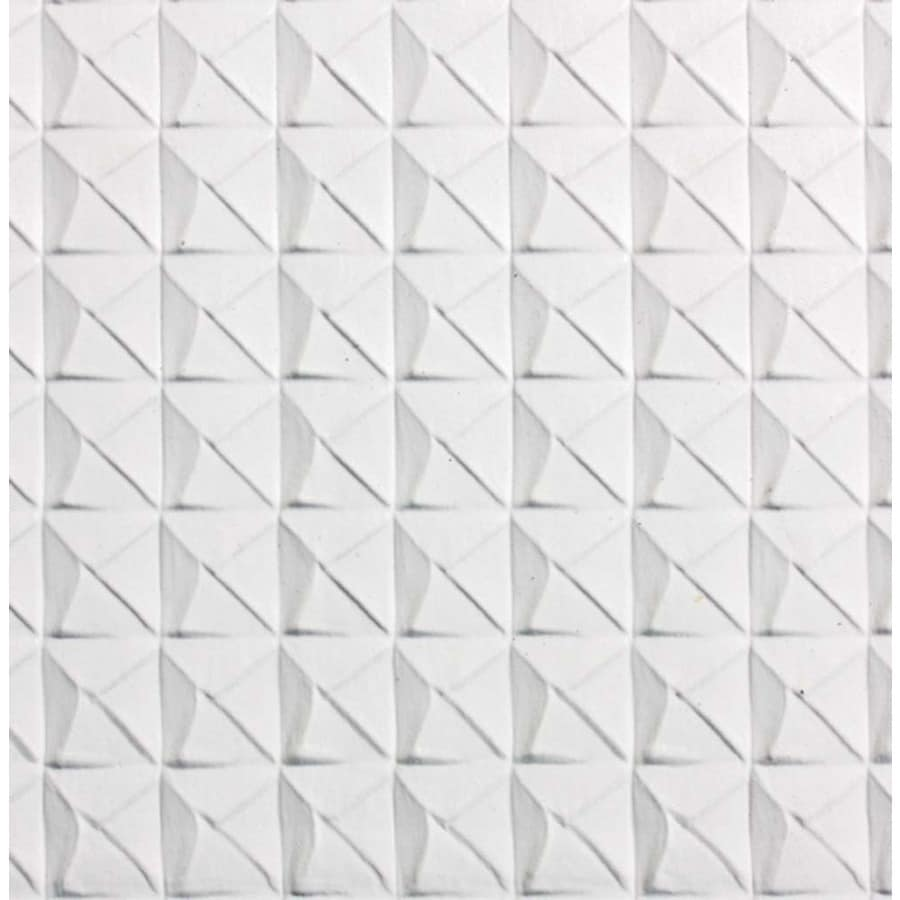 SpectraTile 12-Pack White Patterned 15/16-in Drop Ceiling Tiles (Common: 24-in x 24-in; Actual: 23.75-in x 23.75-in)