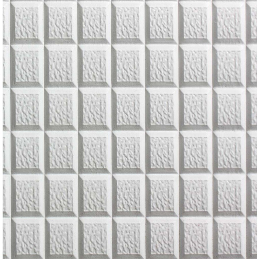 SpectraTile 10-Pack White Patterned 15/16-in Drop Ceiling Tiles (Common: 48-in x 24-in; Actual: 47.75-in x 23.75-in)