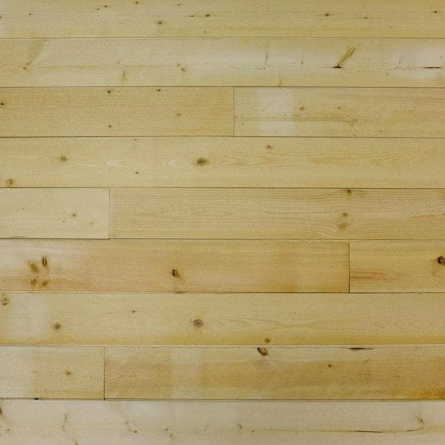 CC Wood Products Heritage Series 35625 In X 4 Ft Natural Pine Shiplap