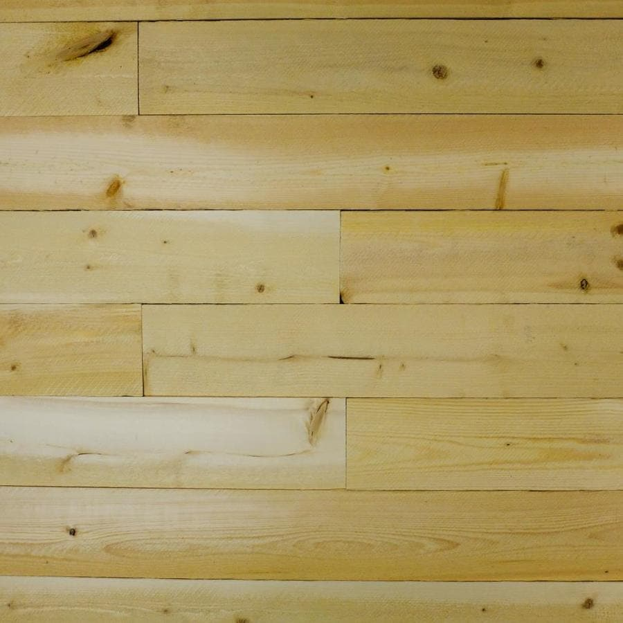 C&C Wood Products Heritage 3.5625-in x 4-ft Natural Pine Wall Plank