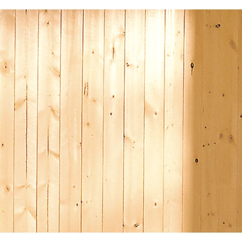 heta produkter modestilar nya lägre priser EverTrue 3.5625-in x 8-ft V-Groove Gold Pine Wall Panel at Lowes.com