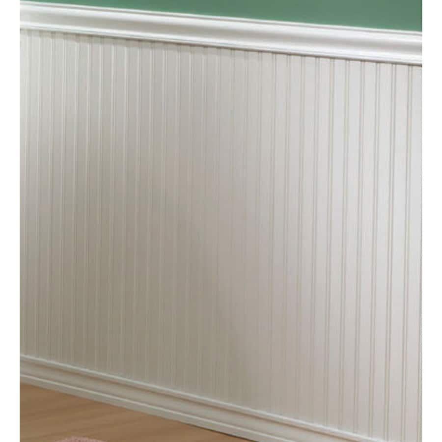 EverTrue 8-ft White Wall Panel Moulding
