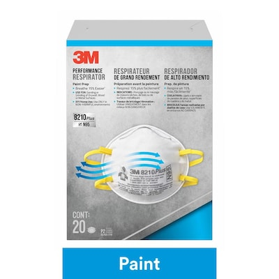 3M Safety Respirator 20-Pack Disposable Sanding and